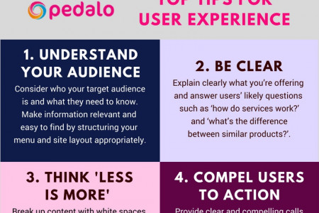 8 tips for great user experience Infographic