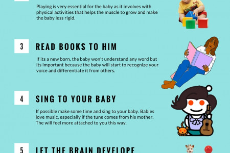 8 Tips on How To Raise Your Baby Infographic