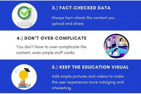 8 Tips to Make a Stunning Education Website Infographic