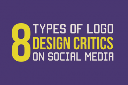 8 Types of Logo Design Critics on Social Media Infographic