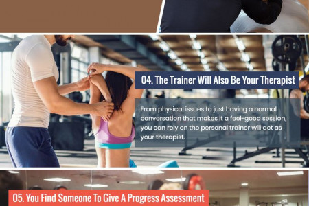 8 Ways A Personal Trainer Can Help You Achieve Your Fitness Goals Infographic