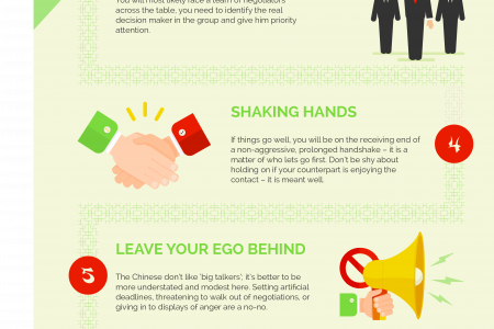 8 Ways to Ensure Your Negotiations with Chinese Suppliers will go Smoothly Infographic