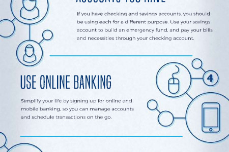 8 Ways To Streamline Your Life By Using Your Checking Account  Infographic