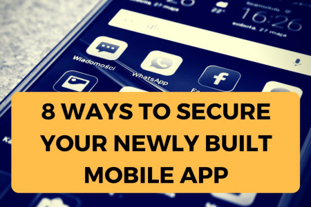 8 Ways You Can Secure Your Newly Developed Mobile App Infographic