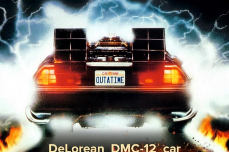 88 facts about the DeLorean Infographic