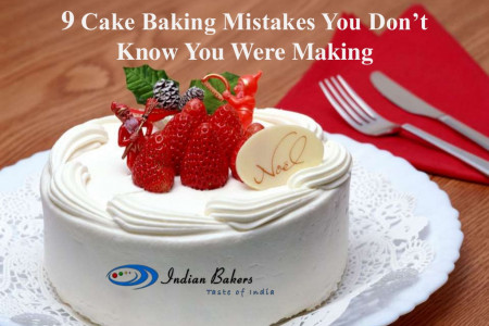 9 Cake Baking Mistakes You Don't Know You Were Making Infographic