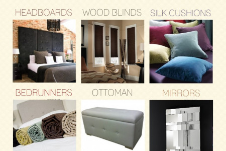 9 Contemporary Bedroom Ideas Infographic