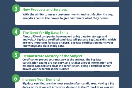 9 IMPORTANCE OF BIG DATA CERTIFICATION Infographic