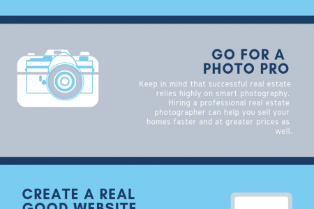 9 Killer Marketing Ideas for Real Estate Agents Infographic