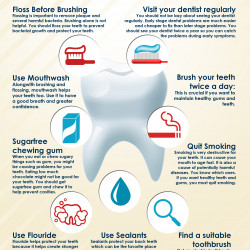 9 Tips For Healthy Teeth | Visual.ly