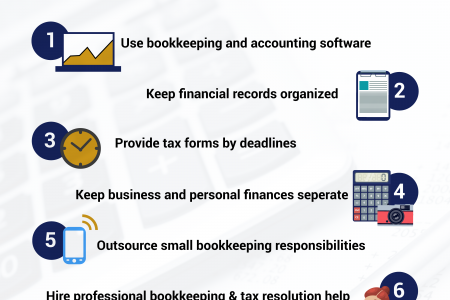 9 Tips For Small Business Bookkeeping in London, United Kingdom Infographic