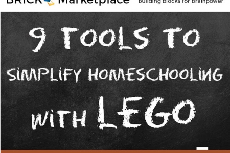 9 Tools to Simplify Homeschooling with LEGO Infographic
