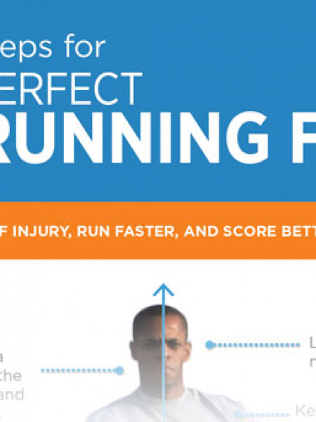 9 Steps for Perfect Running Form Infographic