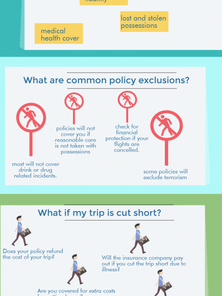A Brief Introduction to Travel Insurance (UK) Infographic