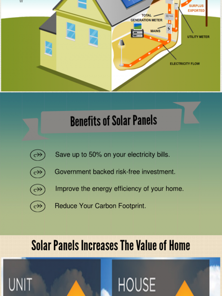 A Brief Synopsis of Solar Panels Infographic