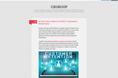 A Few Facts About Predict Customer Retention Infographic