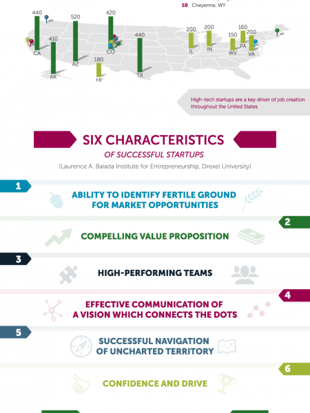 A Primer on Startups Infographic