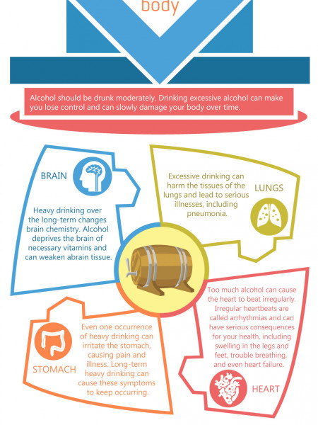 Alcoholism Effects On The Body | Rehab Care Treatment Services Infographic