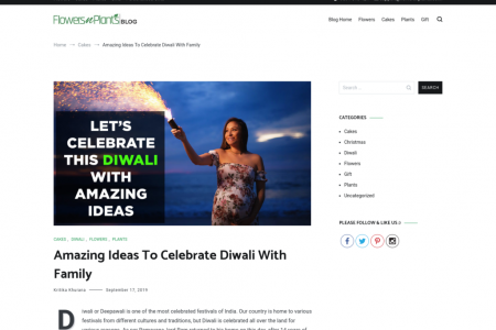 Amazing Ideas To Celebrate Diwali With Family Infographic