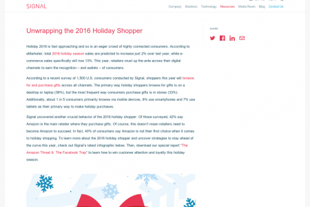 Amazon is the primary holiday gift destination for holiday consumers new survey finds Infographic