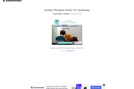 Anxiety Therapist Austin TX | atxanxiety Infographic