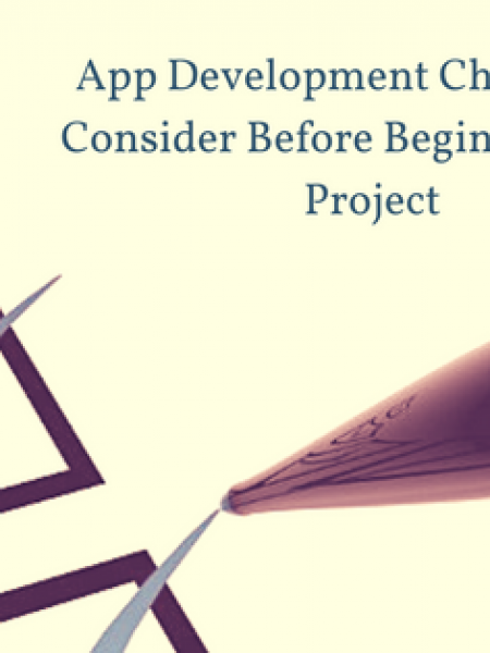 App Development Checklist to Consider Before Beginning your Project Infographic