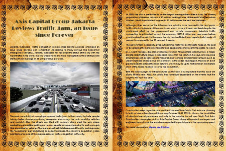 Axis Capital Group Jakarta Review: Traffic Jam, an Issue since Forever Infographic