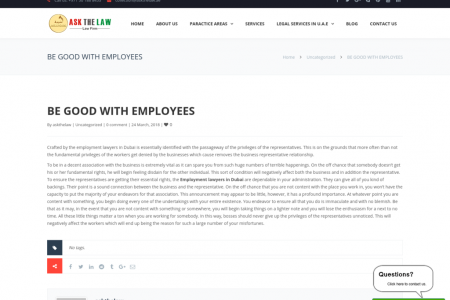 BE GOOD WITH EMPLOYEES Infographic