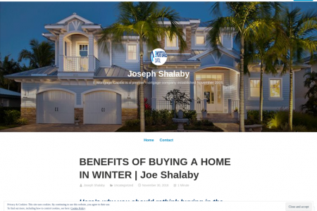 BENEFITS OF BUYING A HOME IN WINTER | Joe Shalaby Infographic