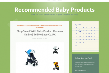 Baby Product Reviews Online | TellMeBaby.Co.UK Infographic