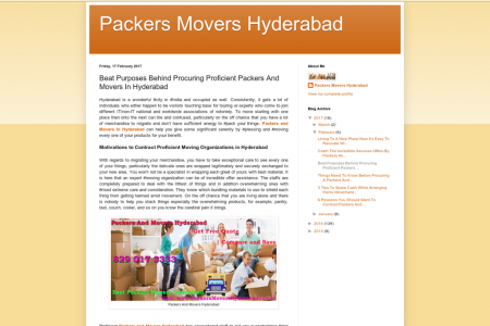Beat Purposes Behind Procuring Proficient Packers And Movers In Hyderabad Infographic