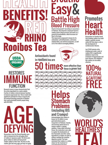 Benefits of Rooibos Tea Infographic