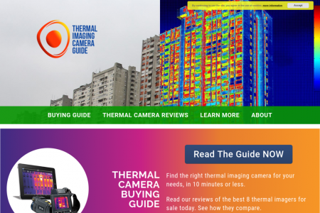 Best Thermal Cameras, IR Cameras & Thermal Imagers Infographic