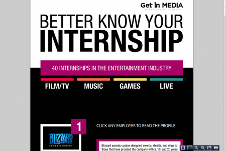 Better Know Your Internship Infographic