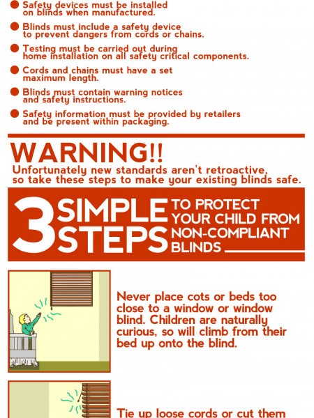 Blind Safety Guidelines Infographic Infographic