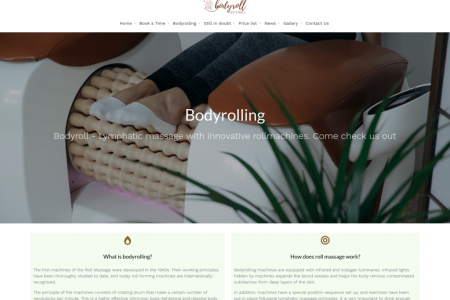 Body Roll Fitness Body Massage | Bodyrolling Salon Perth Infographic