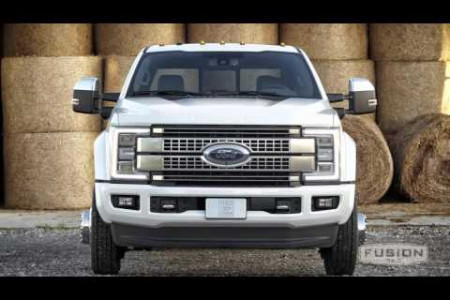 Breaking Down the 2017 Ford Super Duty Announcement Infographic