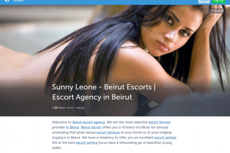 Brooklyn Chase - Beirut Escorts | Escort Agency in Beirut Infographic
