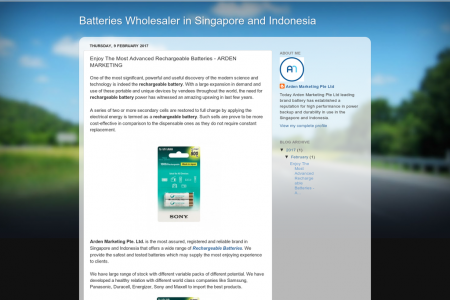 Buy Rechargeable Batteries Online in Singapore & Indonesia Infographic