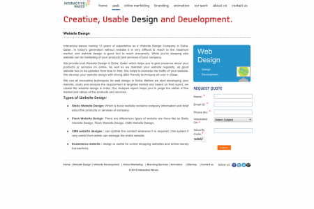 CMS Website Design Infographic