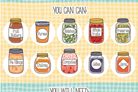 Can-Do Canning: Jar Your Garden to Savor Later Infographic