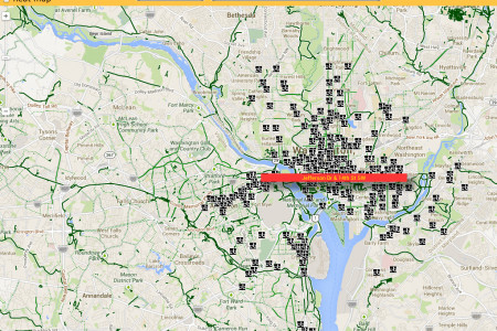 Capital Bikeshare Trip Visualizer Infographic