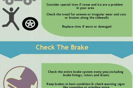 Car Care and Maintainance‎ Tips Infographic