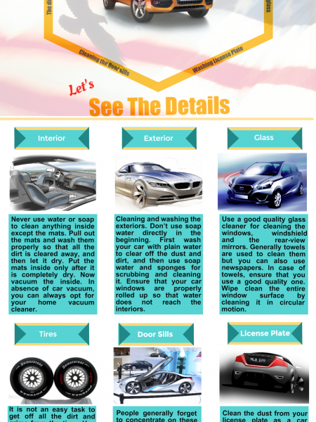 Car Cleaning Tips Infographic