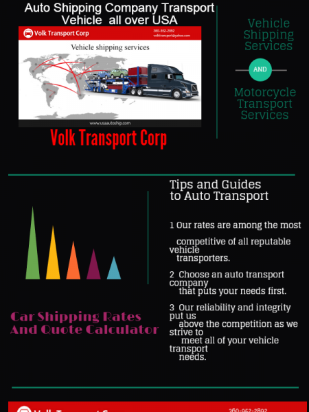 Car Shipping Quote | Car Shipping Quote Rates Calculator In Usa Visual Ly