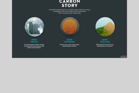 Carbon Story Infographic