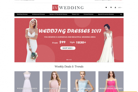Cheap Wedding Dresses Australia Infographic