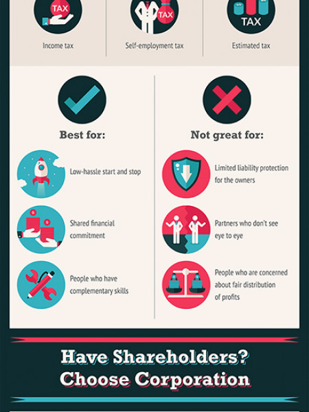 Choose Your Own Adventure: Which Business Entity is Right for You? Infographic
