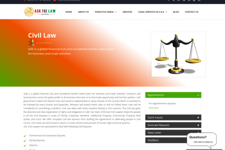 Civil Law Infographic