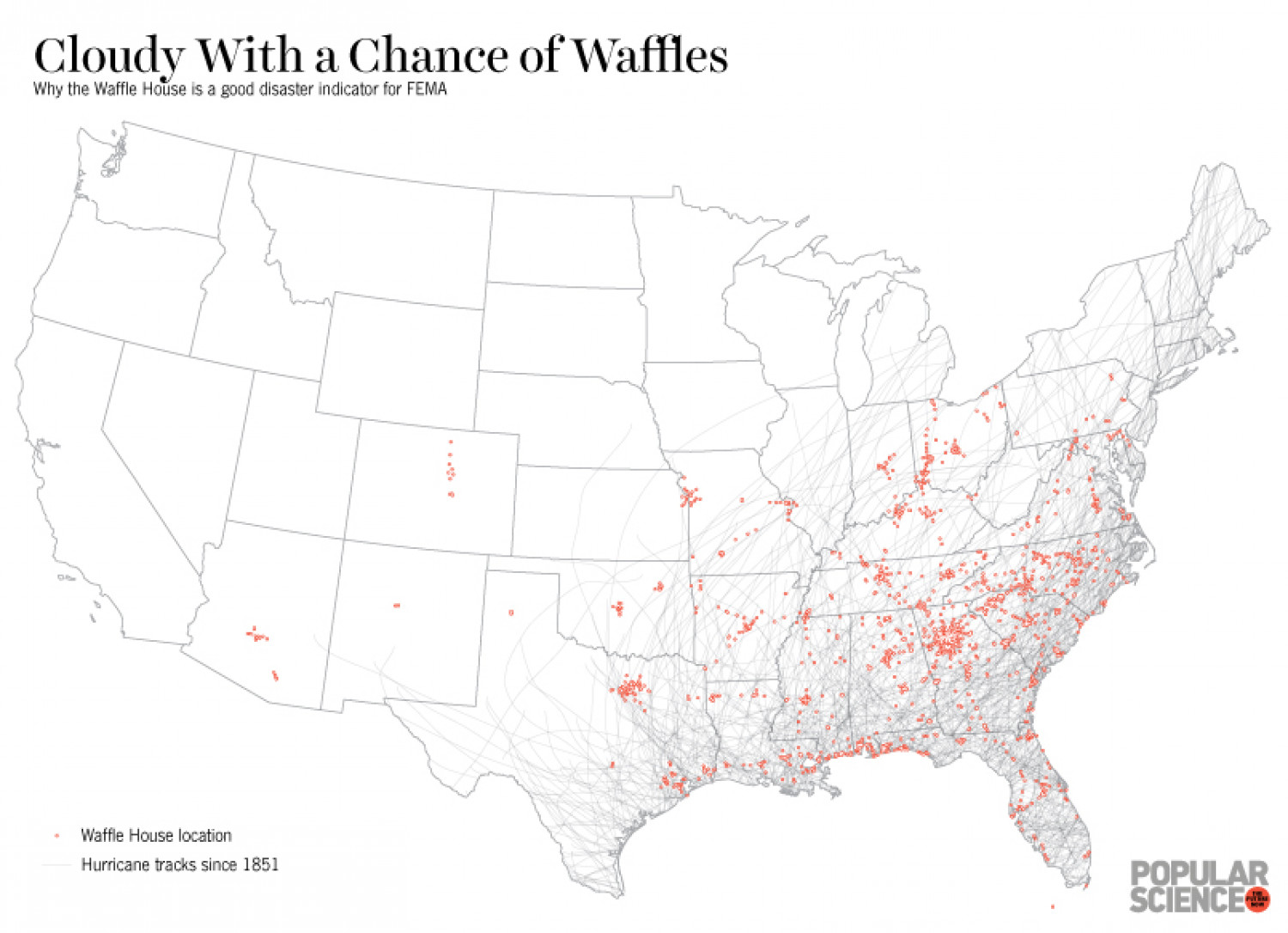 Cloudy With a Chance of Waffles | Visual.ly